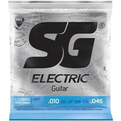 Encordoamento Guitarra 010 – SG – Caixa com 12 Unidad