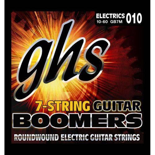 Encordoamento Guitarra 7 Cordas Ghs Gb7m