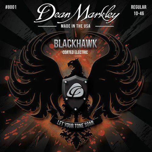 Encordoamento Guitarra Blackhawk Regular 10-46 8001- Dean Markley