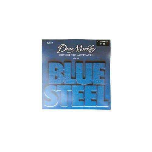 Encordoamento Guitarra Blues Steel Custom Light 9-46 2554 - Dean Markley