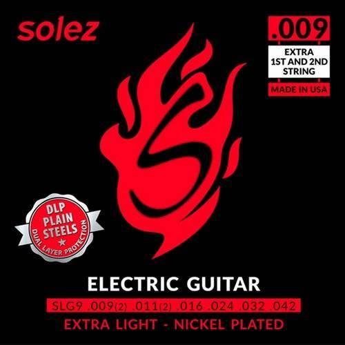 Encordoamento Guitarra Dlp .009 Slg9 Solez