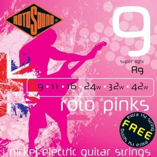 Encordoamento Guitarra Rotosound R9