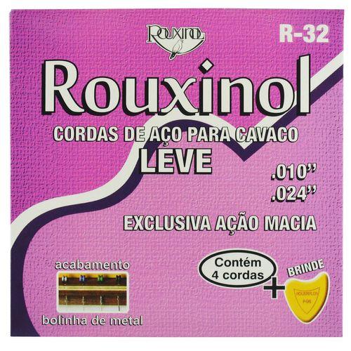 Encordoamento Inox Cavaquinho Leve com Bolinha - Rouxinol