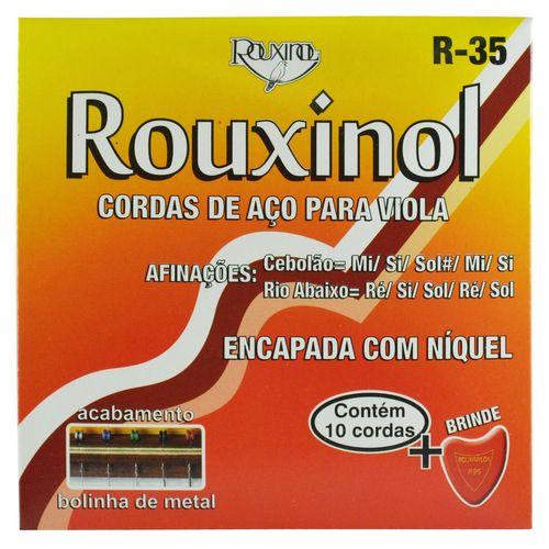Encordoamento Inox Viola Máxima Extra com Bolinha - Rouxinol