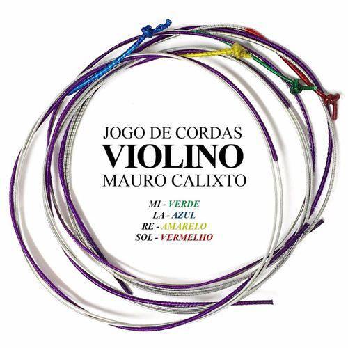 Encordoamento Jogo de Cordas P/ Violino Mauro Calixto MC-100