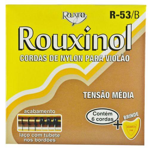 Encordoamento Nylon Preto / para Violão - Rouxinol