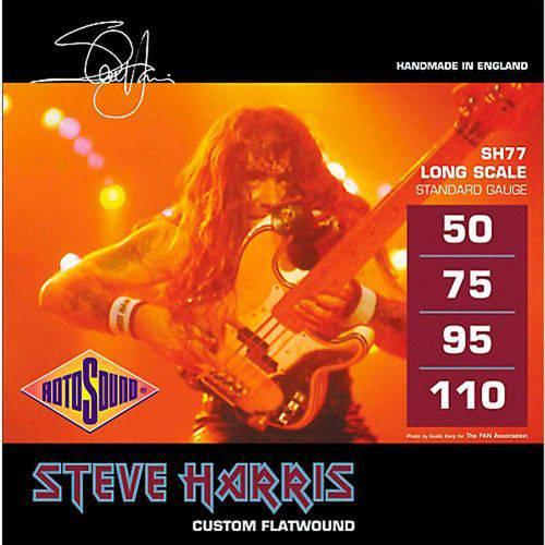 Encordoamento P/ Baixo Flatwound Steve Harris Sh77 0.050/0100