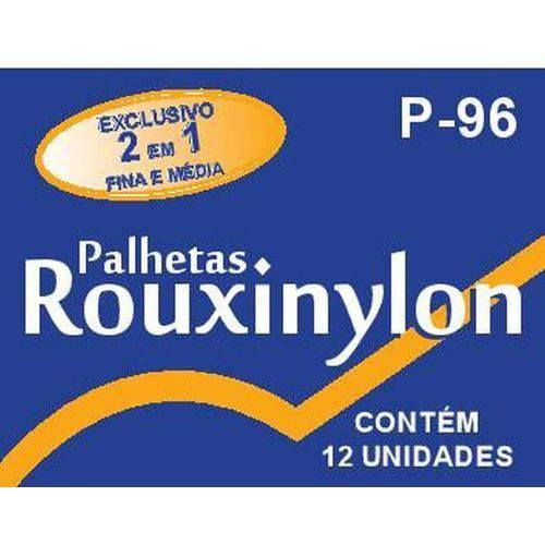 Encordoamento Palheta Rouxinylon Colorida - 12 Unidades