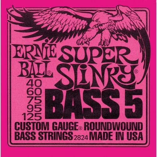 Encordoamento para Baixo 5 Cordas 2824 Super Slinky 040 125