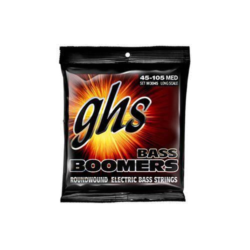 Encordoamento para Baixo Ghs 5l Dyb Bass Boomers 5 Cordas