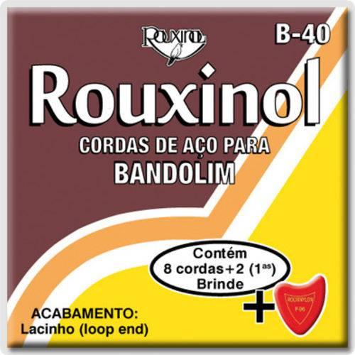 Encordoamento para Bandolim Rouxinol R40/b40