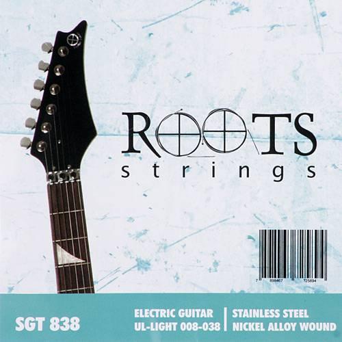 Encordoamento para Guitarra - 6 Cordas em Aço - Roots