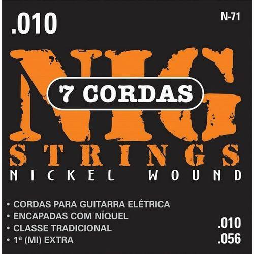 Encordoamento Guitarra Nig 2n64 Duplo 0.10 - 0.42