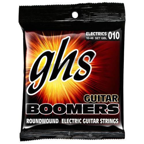 Encordoamento para Guitarra GHS Boomers 010 - 046 GBL + Mi Extra