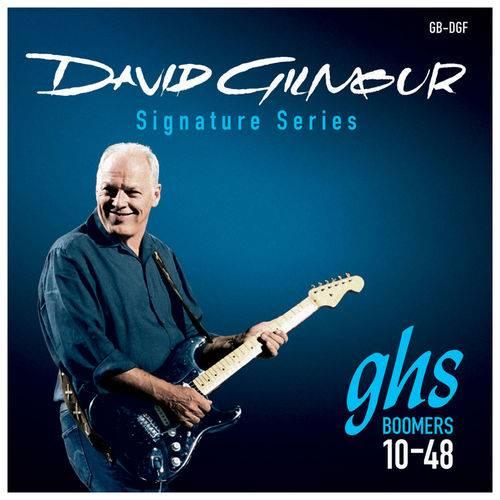 Encordoamento para Guitarra GHS David Gilmour 010 - 048 Mi Extra