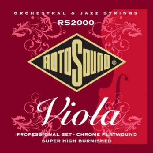 Encordoamento para Viola Acústica Rotosound Rs2000