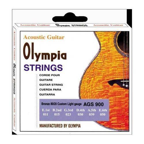 Encordoamento para Violão Aço 0.11 Olympia Ags-900