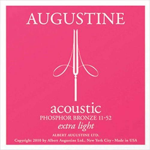 Encordoamento para Violão Aço Augustine Acoustic Extra Light