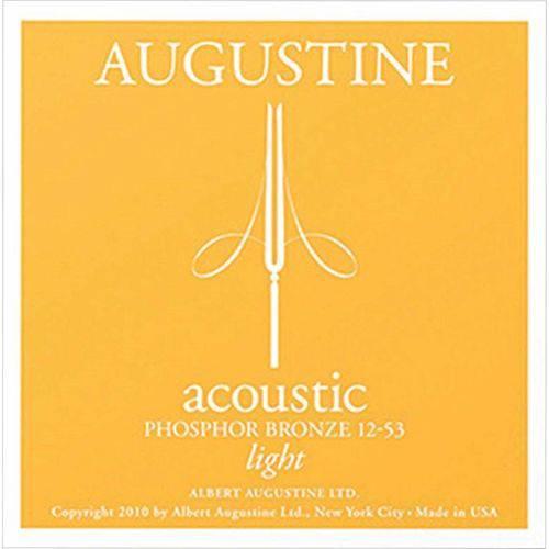 Encordoamento para Violão Aço Augustine Acoustic Light