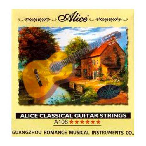 Encordoamento para Violão Alice - Nylon (A106-H) #SCHAGS-001
