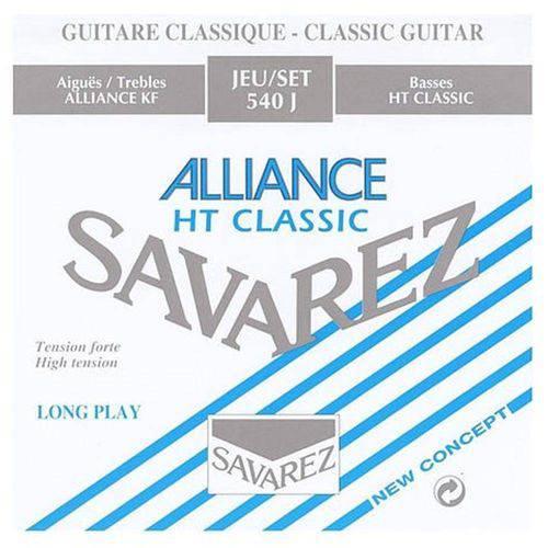 Encordoamento para Violão Nylon Savarez Alliance Ht Classic 540j