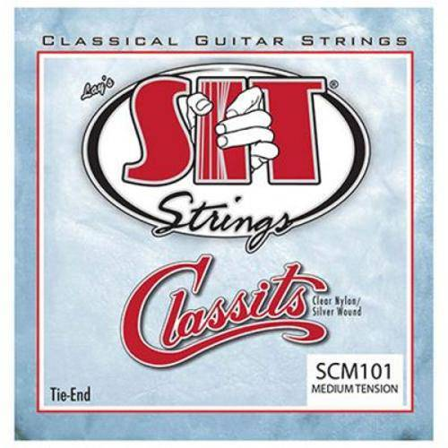 Encordoamento para Violão Nylon Sit Strings Medium Tension Classits Scm101
