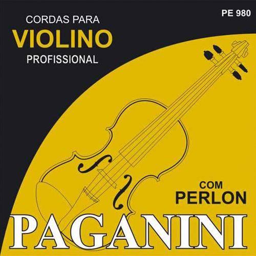 Encordoamento para Violino Paganini com Perlon PE980