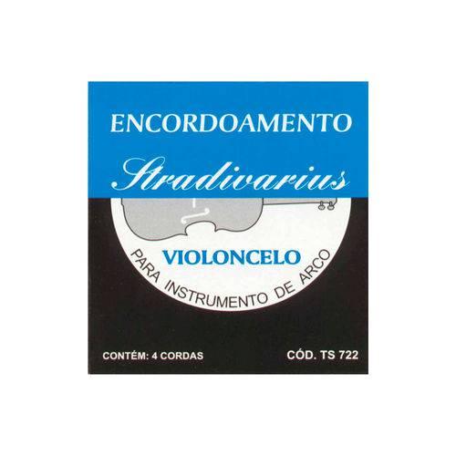 Encordoamento para Violoncelo Torelli TS722 Stradivarius