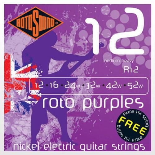 Encordoamento Rotosound R12 Roto Purples