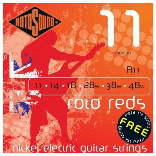 Encordoamento Rotosound R12 Roto Reds