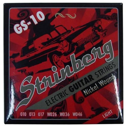 Encordoamento Strinberg Gs-10 para Guitarra