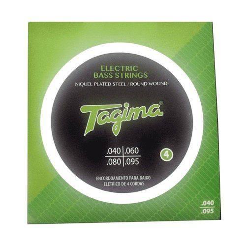 Encordoamento Tagima P/ Baixo 4 Cordas .040