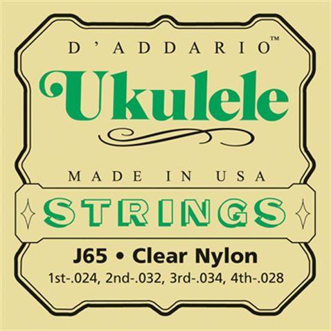Encordoamento Ukulele EJ65 S Daddario