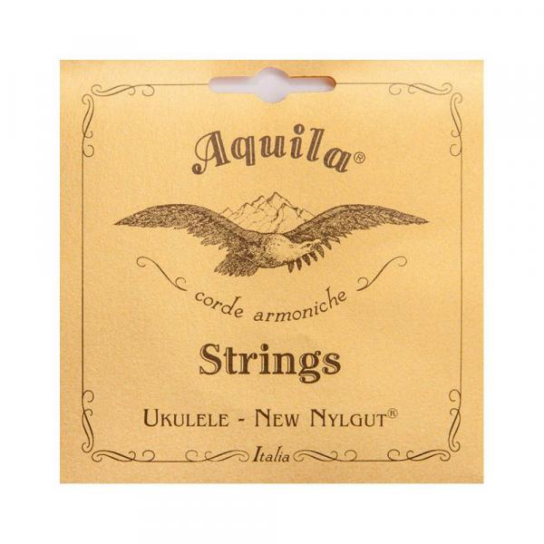 Encordoamento Ukulele New Nygut Low G Aq 8u Cl - Aquila