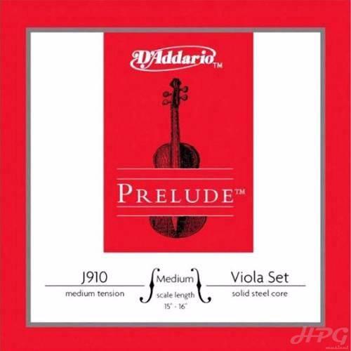 Encordoamento Viola de Arco Daddario Prelude J910mm