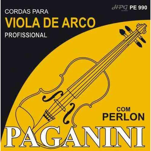 Encordoamento Viola de Arco Paganini Perlon
