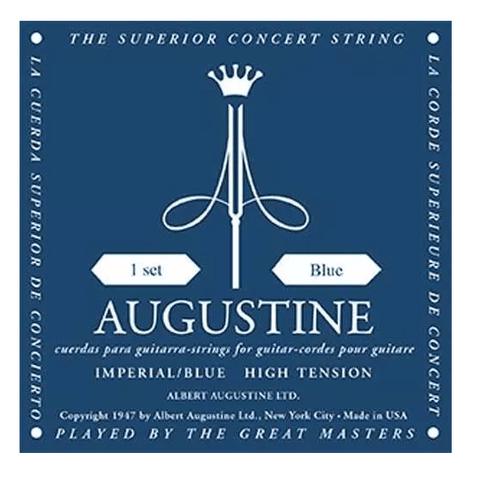 Encordoamento Violao Augustine Blue Nylon