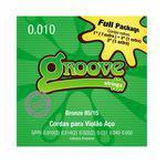 Encordoamento Violão Gfp3 010 - Groove