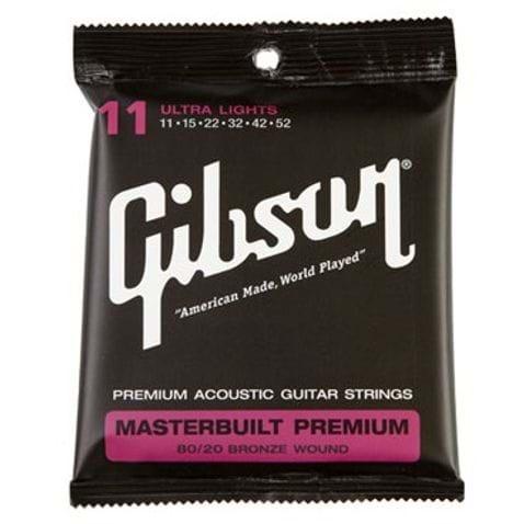 Encordoamento para Violão Aço Gibson Masterbuilt 011 BRS11