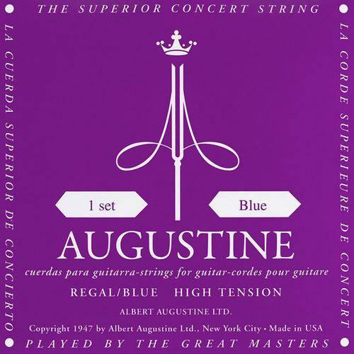 Encordoamento Violão Nylon Augustine Regal Blue Tensão Alta