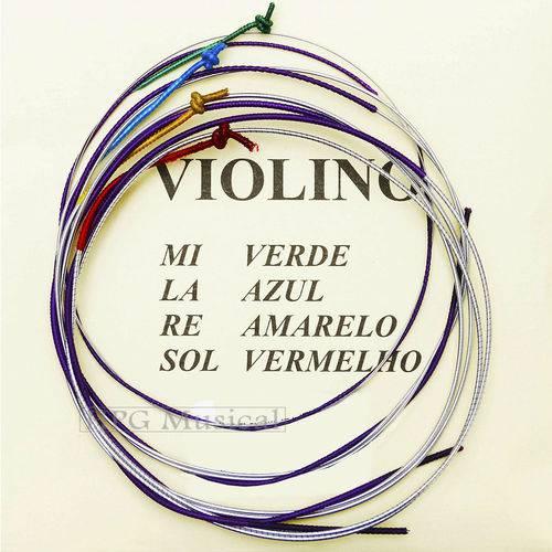 Encordoamento Violino Mauro Calixto Padrão 3/4
