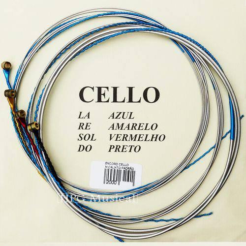 Encordoamento Violoncelo Mauro Calixto Padrão Cello 4/4