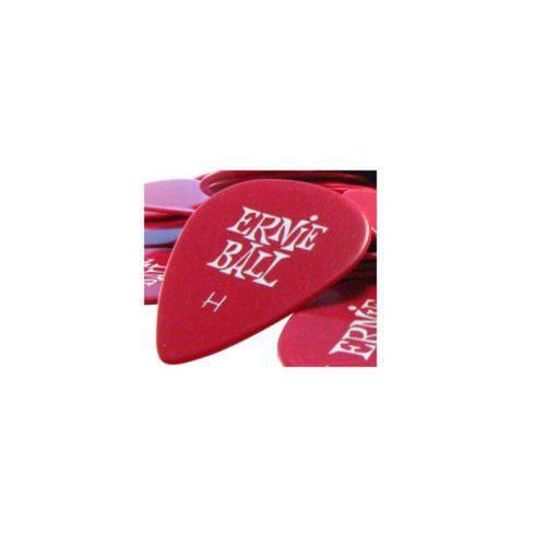 Ernie Ball - Palheta Pesada Red 9123