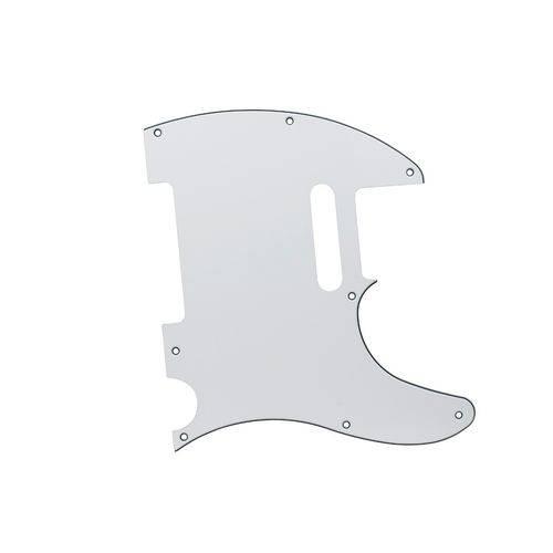 Escudo Guitarra Stratocaster SSS Branco Perolizado