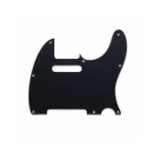 Escudo para Guitarra Telecaster Preto Spirit 3camadas X310