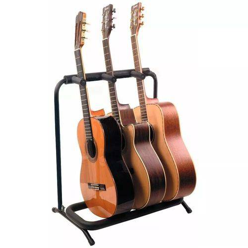 Estante 3 Guitarra Violao Baixo Mellody Dobrável J73