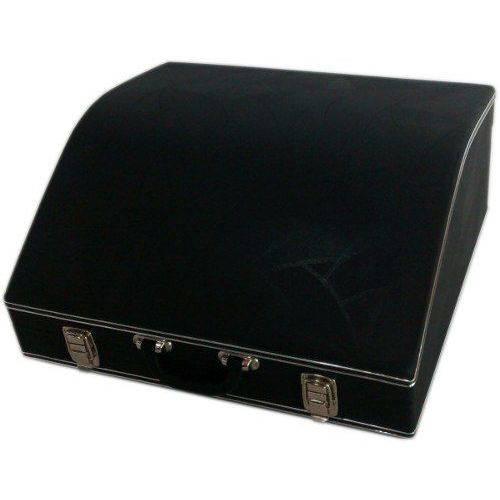 Estojo Case para Acordeon 120 Super 8 Luxo Pelucia Preta