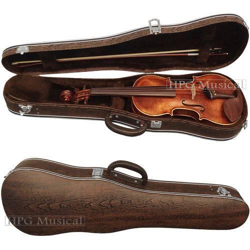 Estojo Case Violino Leilo Clássico Madeira