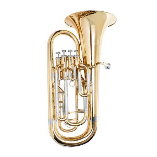 Euphonium (Bombardino) Prowinds 4 Pistos e Corpo Laqueado - PW850-L