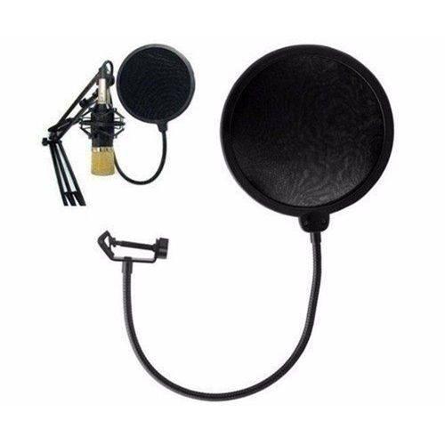 Filtro Anti Ruido para Microfone Condensador Studio Pop